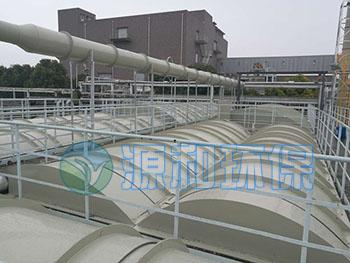 废水厂施工现场-源和环保
