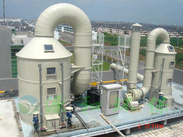 PCB废气处理工程:常熟弘捷电路