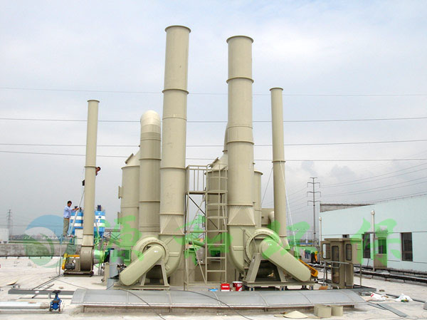 化工废气处理工程:万宝至马达株式会社