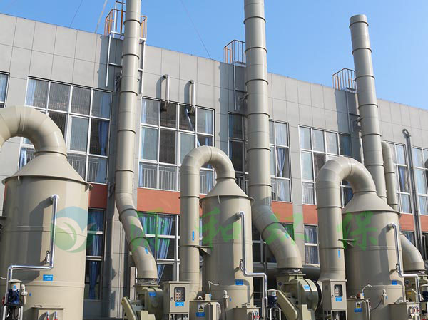 酸碱废气处理工程:滁州立讯