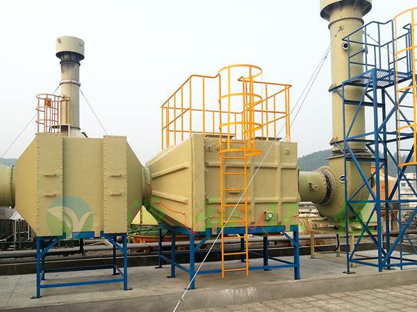有机废气处理工程:无锡新区捷普绿点电子公司