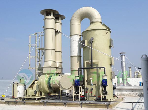 电子厂废气处理工程:汕头超声电子