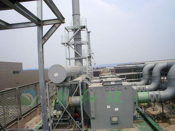 酸碱废气处理工程:奥特斯