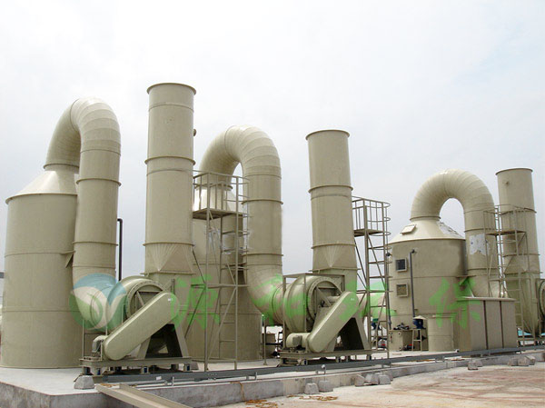 电子厂废气处理工程:某大型日资企业