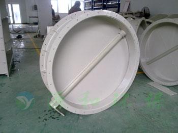 源和环保:PP单片式手动风阀