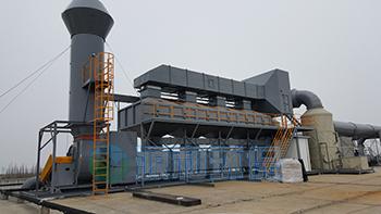 有机废气处理-喷锡厂废气处理工程