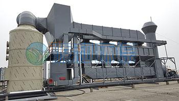 有机废气处理-喷漆厂废气处理工程