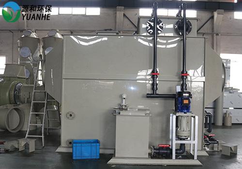 酸碱废气处理设备-卧式洗涤塔