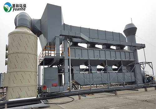 有机废气处理设备-蓄热热式催化燃烧废装置